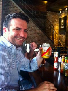 Beer Man Andrew McLeod
