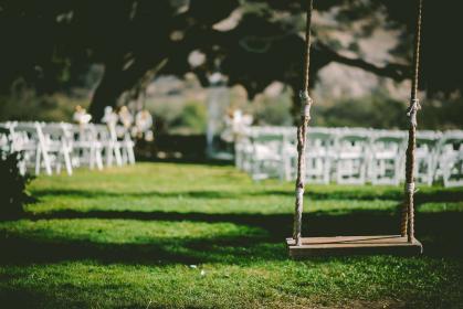 Wedding swing