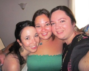 Jacqueline, Maggie, and Jessica Raposo